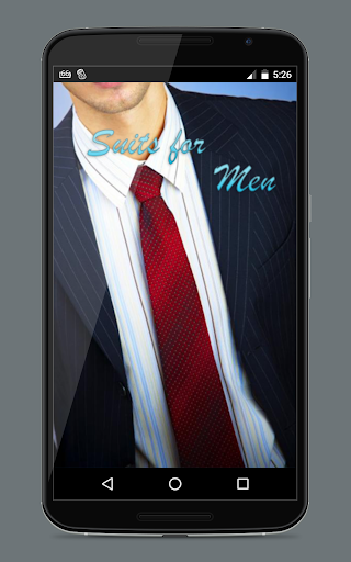 Suits For Men: Photo Editor