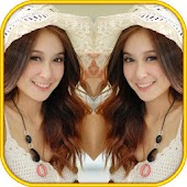 Mirror Camera Effect photo montage