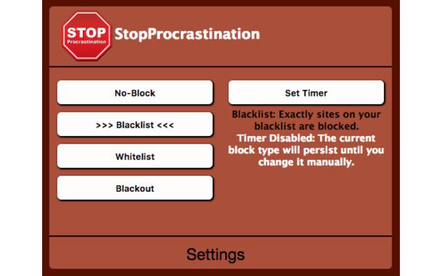 StopProcrastination