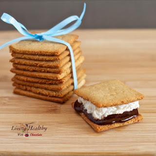 Homemade Honey Graham Crackers, Marshmallows and S'mores (Gluten Free, Grain Free, Refined Sugar Free, Paleo)