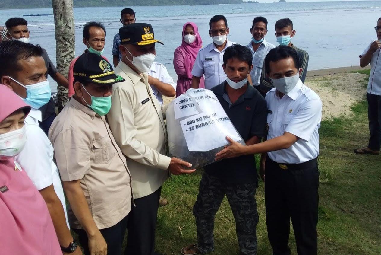 Ini Pesan Gubernur Sumbar, pada Nelayan di Sungai Nipah, Pessel