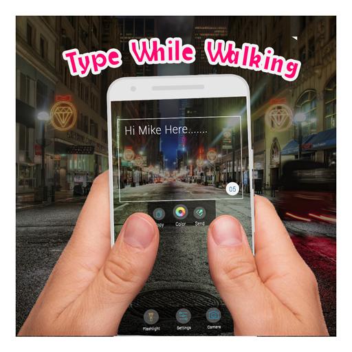 Walk & Type Transparent Keypad