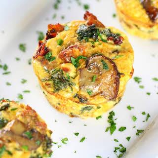 Healthy Kale Egg Breakfast Cups.