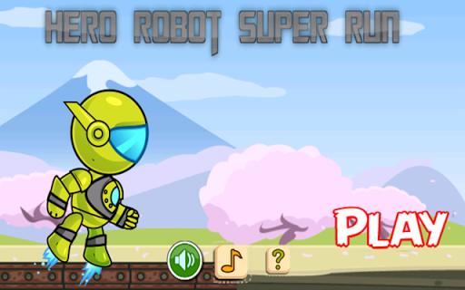 机器人运行豪杰超级游戏