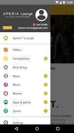 Xperia Lounge Screenshot 2