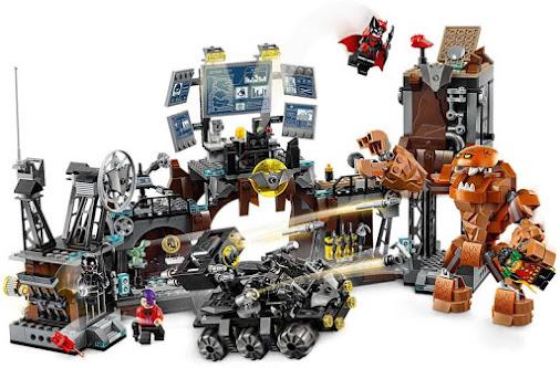 Contenido de Lego® 76122 Irrupción de Clayface™ en la Batcueva