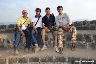 Photo: From left : Amit, Manoj, Swalpesh and Bapu....
