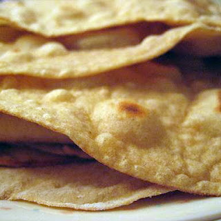 100% Whole Grain Homemade Tortillas