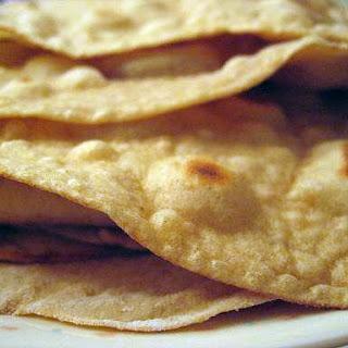 100% Whole Grain Homemade Tortillas.