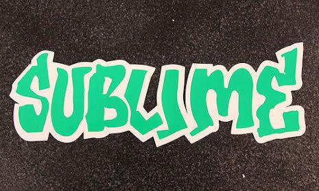 Sublime - Logo Stor - Klistermärke