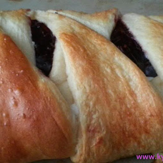 Raspberry Cream Cheese Pastry (Braid)