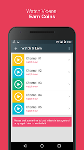 Watch & Earn - Earn Real Money- screenshot thumbnail