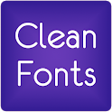 Fonts Clean for FlipFont® Free icon