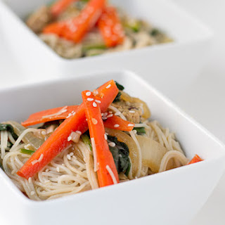 Chap Chae with Tempeh