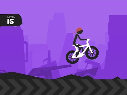 Wheelie Stickman Rider 9