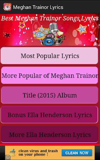 Meghan Trainor Lyrics