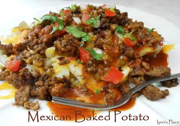 Mexican Baked Potato Recipe