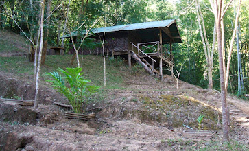 Photo: Another rustic bungalow near Klong Tron creek, about 1 km from the sub station