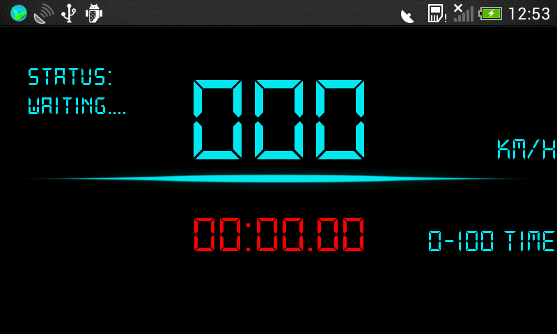 Digital GPS Speedometer- screenshot