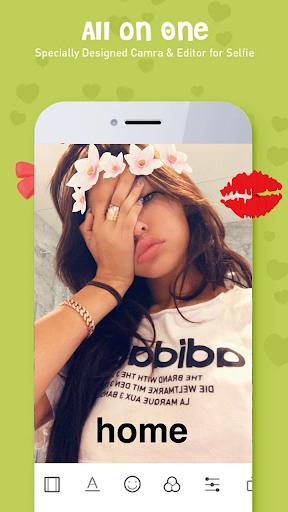 Sweet Camera, Face Filter, Selfie Editor, Collage 2.0.2 Screenshots 2