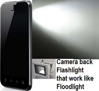 Floodlight Super Flash Torch