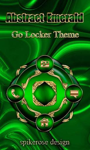 Abstract Emerald Go locker