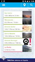 Screenshot of Parte de Nieve y Webcams
