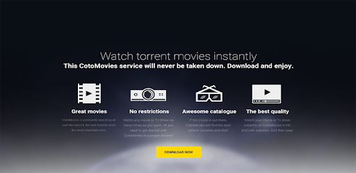 Browse your like movie and click it to watch.