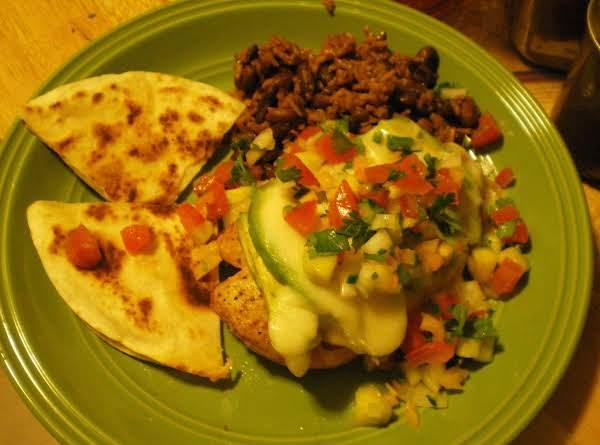 Tammy's Mesquite Grilled Chicken Dinner