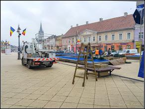 Photo: Turda - Piata Republicii - fantana arteziana - 2018.11.27