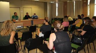 Miguel Brugarolas expone los objetivos de la academia.