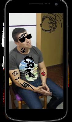 Get a Tattoo - tribal stickers - screenshot