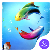 Fishes-APUS Launcher theme