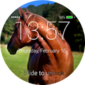 Horses Lock Screen