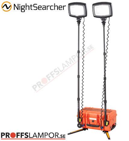 Arbetslampa Solaris Duo orange