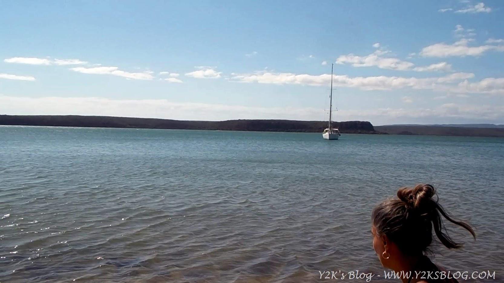 Y2K all'ancora davanti a Ile Grimault - Grande Terre