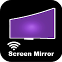 Screen Mirroring for Roku smart view: Screen Share icon