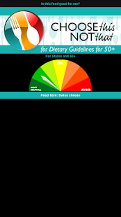 Dietary Guidelines 50+- screenshot thumbnail