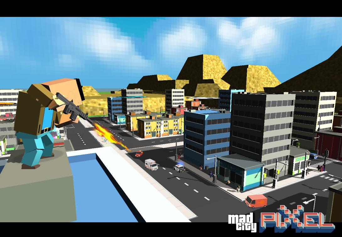 Mad City Pixel's Edition- screenshot