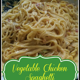 Chicken Spaghetti with Vegetables