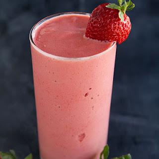 Strawberry Frappé.