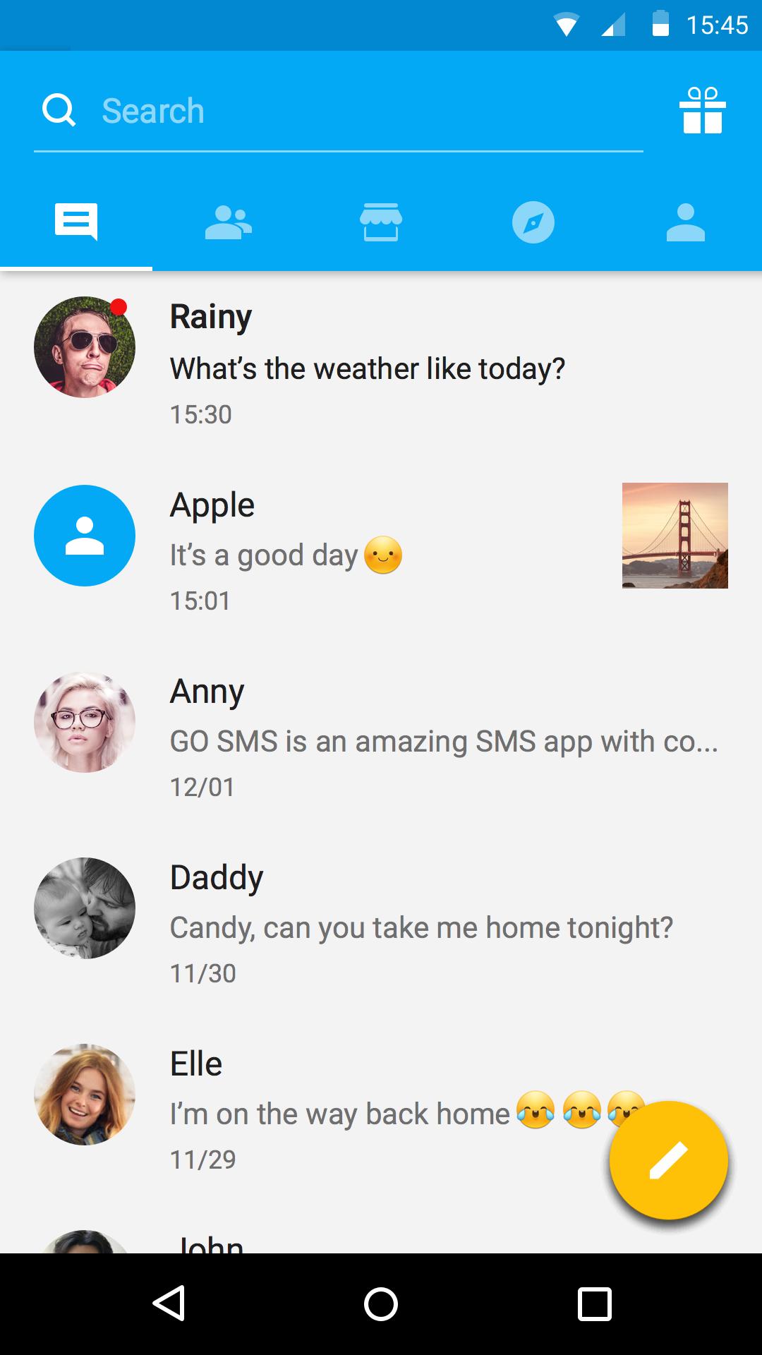 GO SMS Pro screenshot #7