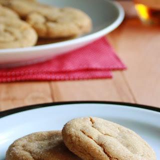 Bourbon Molasses Cookies