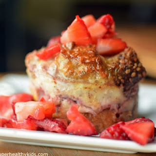 Berry Breakfast Bowls- Mini French Toast Casseroles.