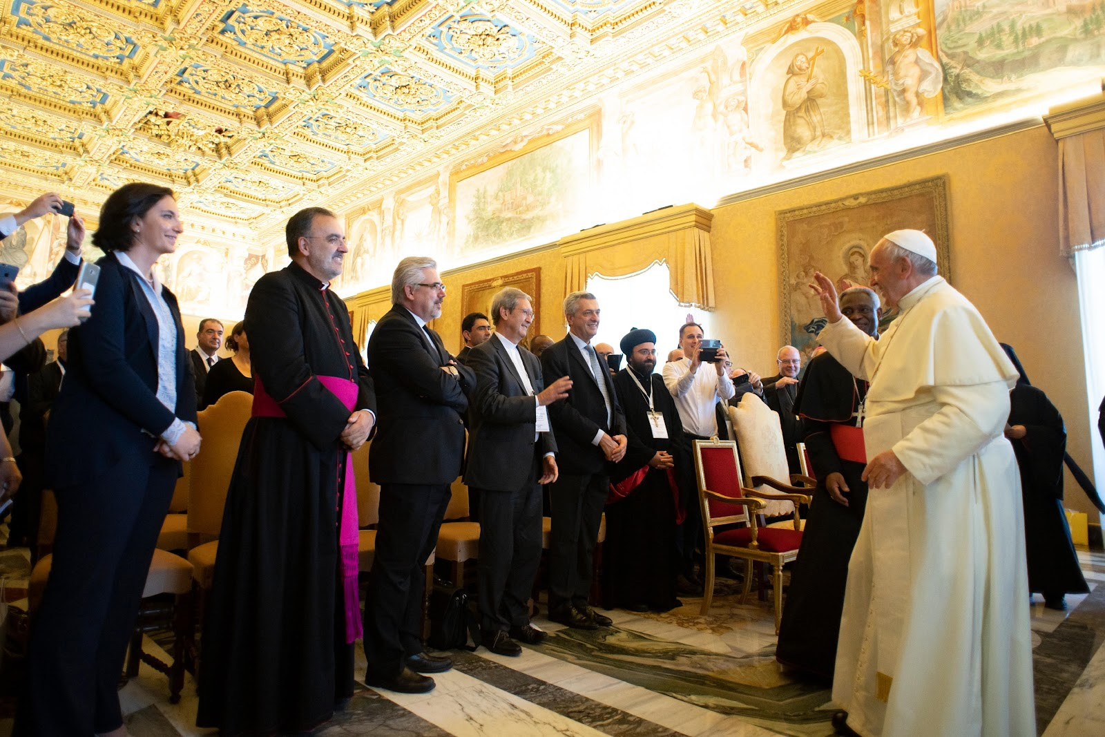 Đức Thánh Cha động viên các Hoạt động bác ái ở Iraq, Syria, các quốc gia lân cận