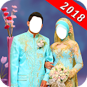 Muslim Couple Photo Suit Maker icon