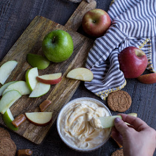 Caramel Apple Cheesecake Dip.