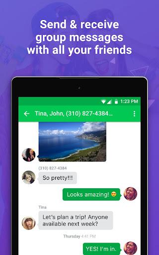 Nextplus Free SMS Text + Calls  screenshots 11