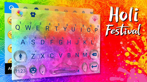 Holi Festival Kika Emoji Theme for PC