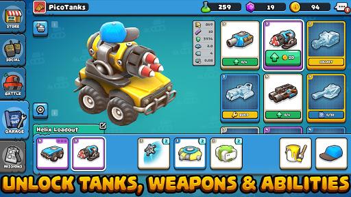 Pico Tanks [Mod] Apk - Xe tăng chiến đấu